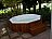 wooden jacuzzi decks. Black Bedroom Furniture Sets. Home Design Ideas